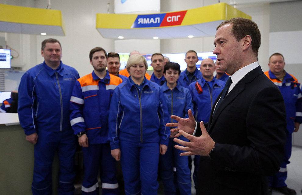 Medvedev: Northern Sea Route to handle over 24 million metric tons of freight in 2019