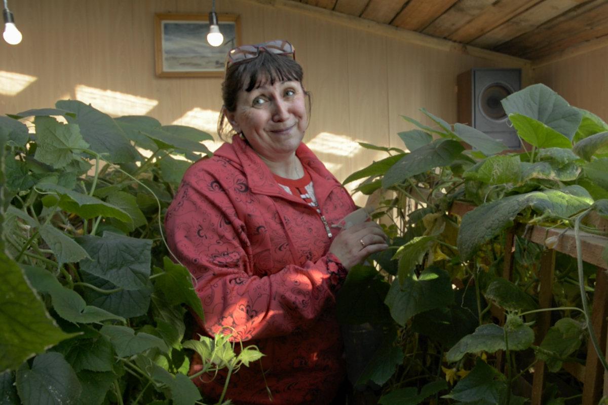 Елена Губенко, техник-метеоролог на станции Марресаля, Ямало-Ненецкий автономный округ