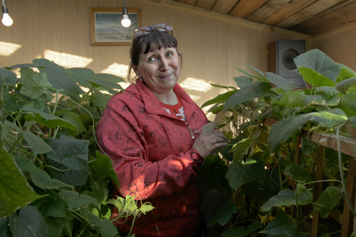Yelena Gubenko, meteorological engineer at the Marresalya Station, Yamal-Nenets Autonomous Area