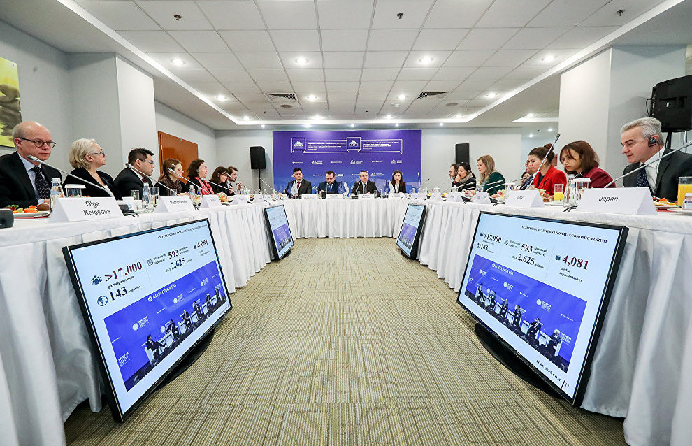 St. Petersburg's Arctic Forum: Three times more participants than planned