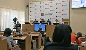 Пресс-конференция Матвея Шпаро, посвящённая арктической экспедиции