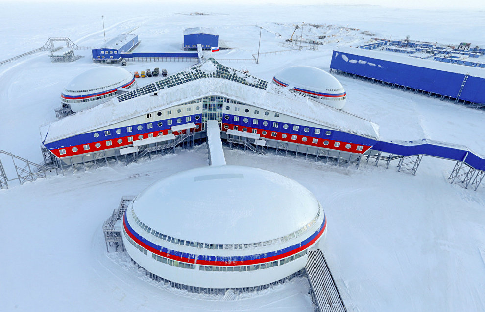 Russia built over 710,000 square meters of Arctic military facilities in six years