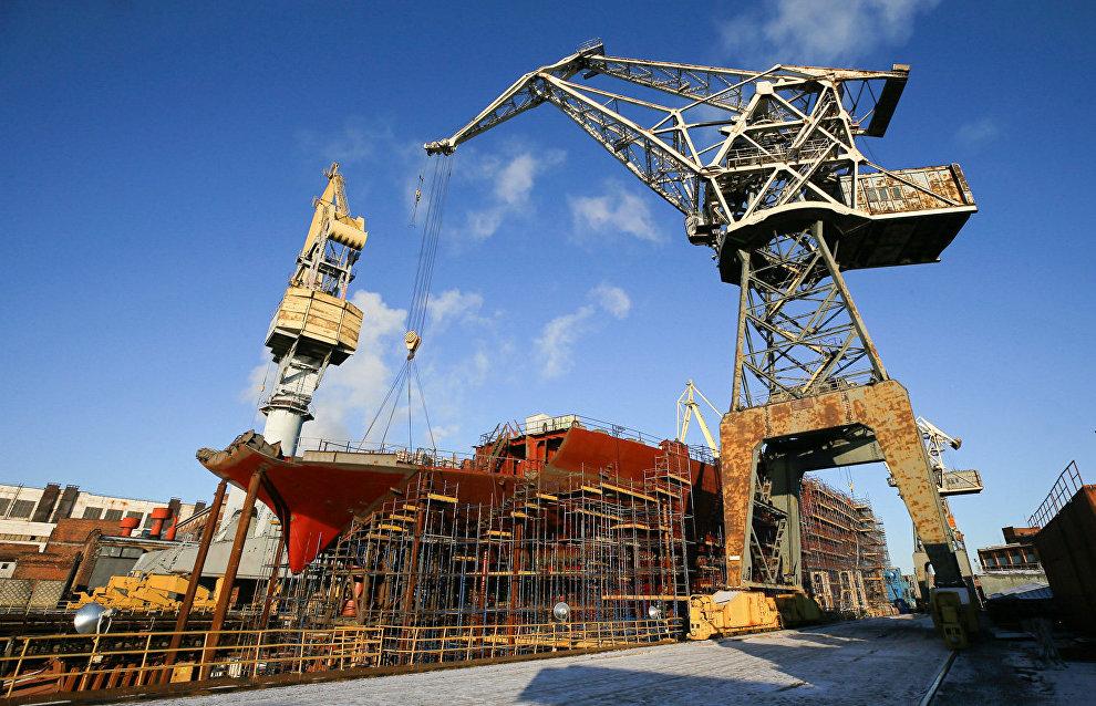 Атомный ледокол «Урал» планируют спустить на воду в мае 2019 года