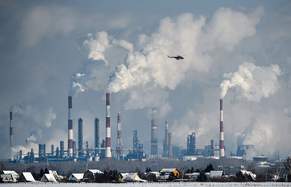 Krasnoyarsk Territory and Yamal-Nenets Autonomous Area enter ranking of regions with the most polluted air
