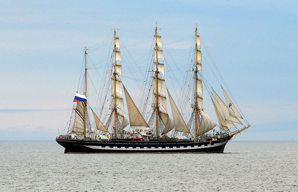 Three sailing ships to take part in 2019-2020 round-the-world expedition