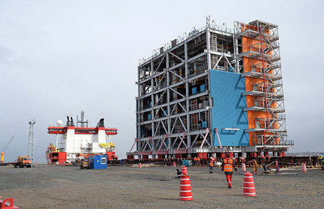 Medvedev expands Sabetta sea port