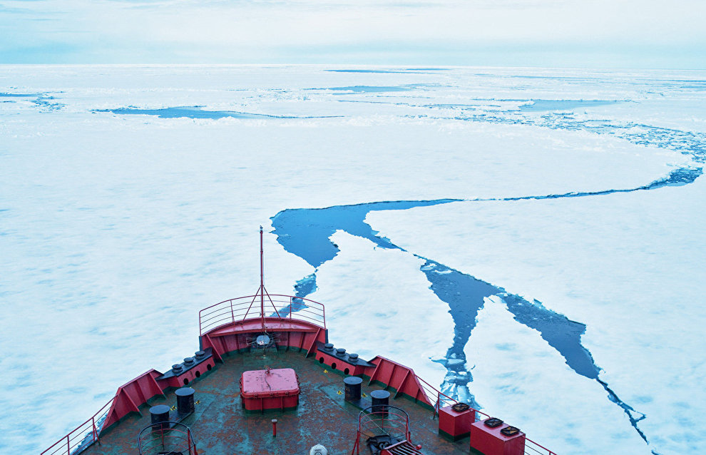 UN recognizes part of the Arctic as extension of Russia's continental shelf