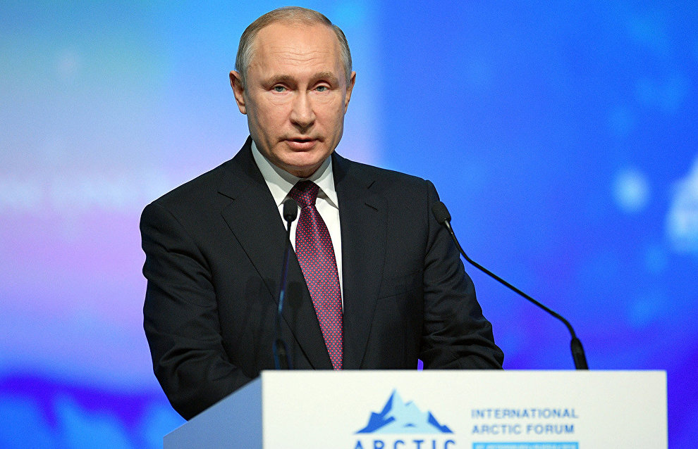Putin: It is possible to bring annual freight traffic on Northern Sea Route to 80 million tons