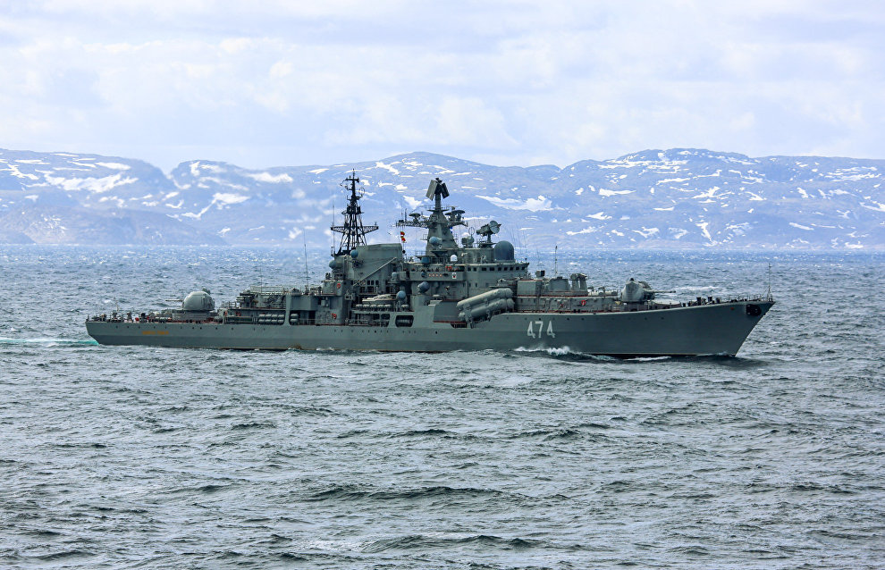 Путин не видит военной напряжённости в Арктике