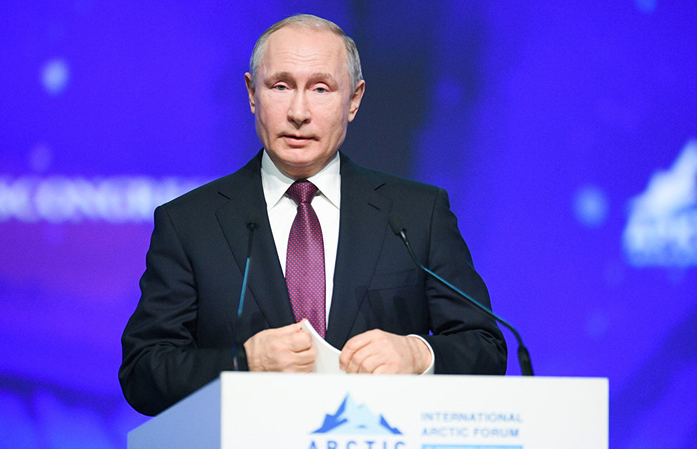Putin: The state must take on part of the burden of companies operating in the Arctic