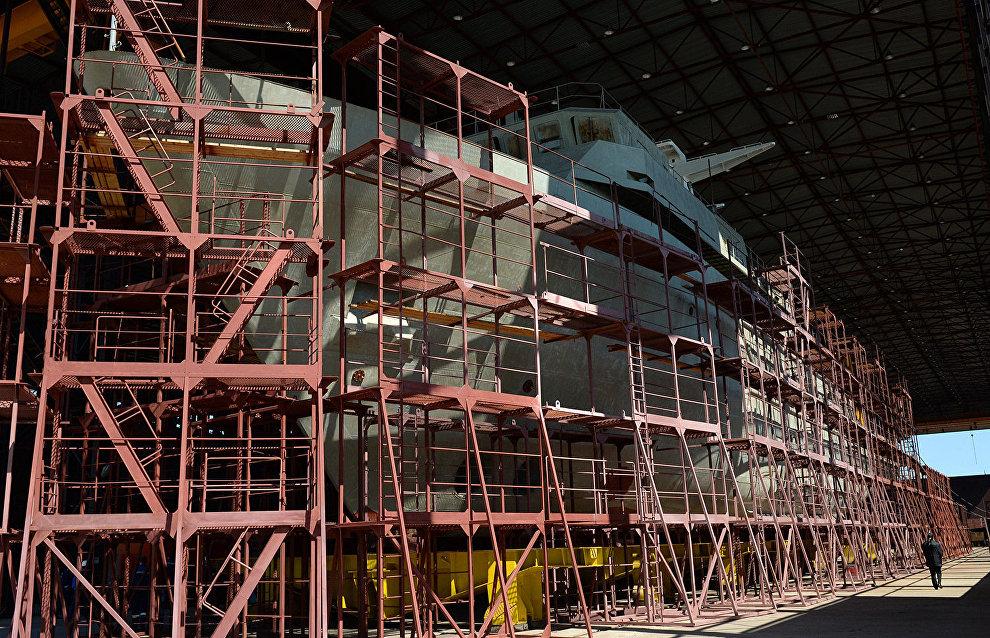 ОСК хочет приобрести экзоскелеты для виртуального тестирования монтажа элементов судна