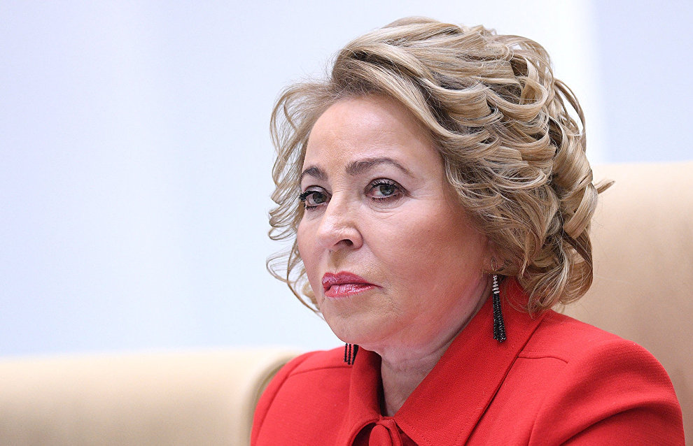 Matviyenko looks to the drafting of law on Arctic exploration