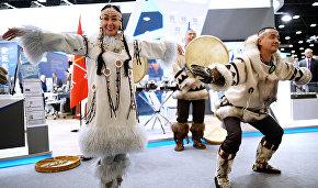 На международном арктическом форуме «Арктика – территория диалога» в Санкт-Петербурге