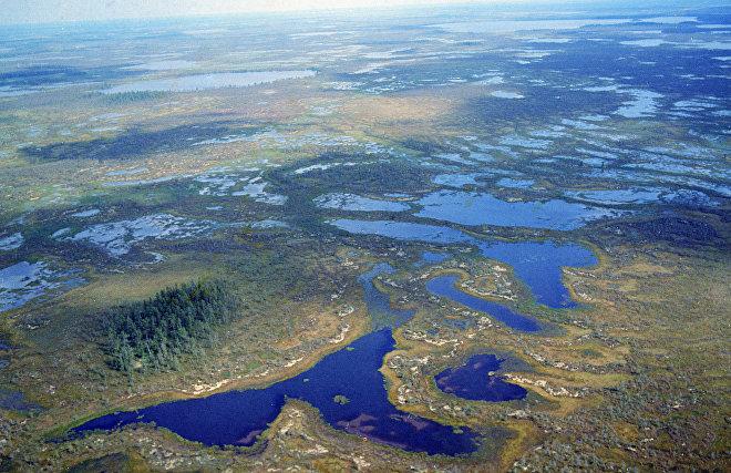 Учёные изучили испарения термокарстовых озёр Западной Сибири и Арктики