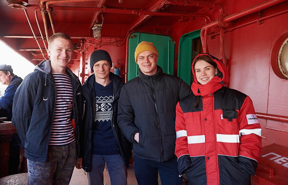 Участники второго этапа экспедиции «Трансарктика-2019»