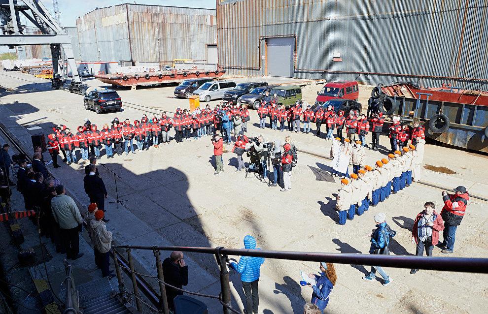 В мероприятии приняли участие юнармейцы Уемской школы Архангельской области