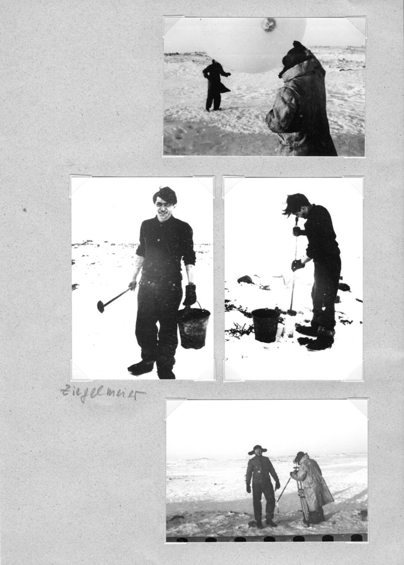 The Germans, known for their precision, worked hard in the Arctic