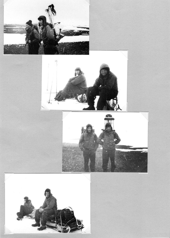 German meteorologists at Treasure Hunter station