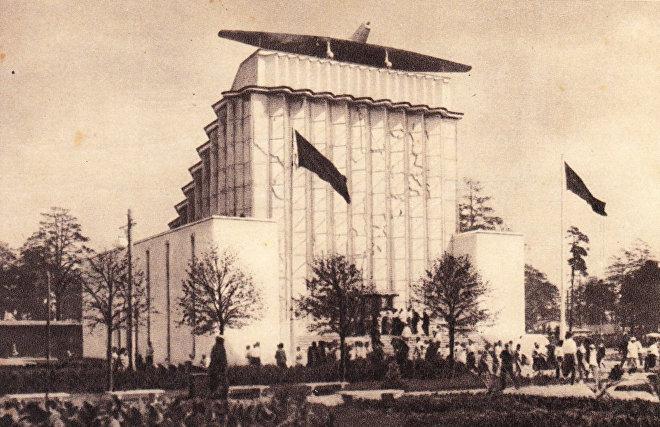 История павильона «Советская Арктика» на ВДНХ