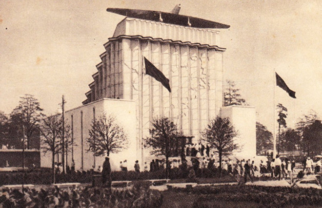 The history of Soviet Arctic pavilion at VDNKh