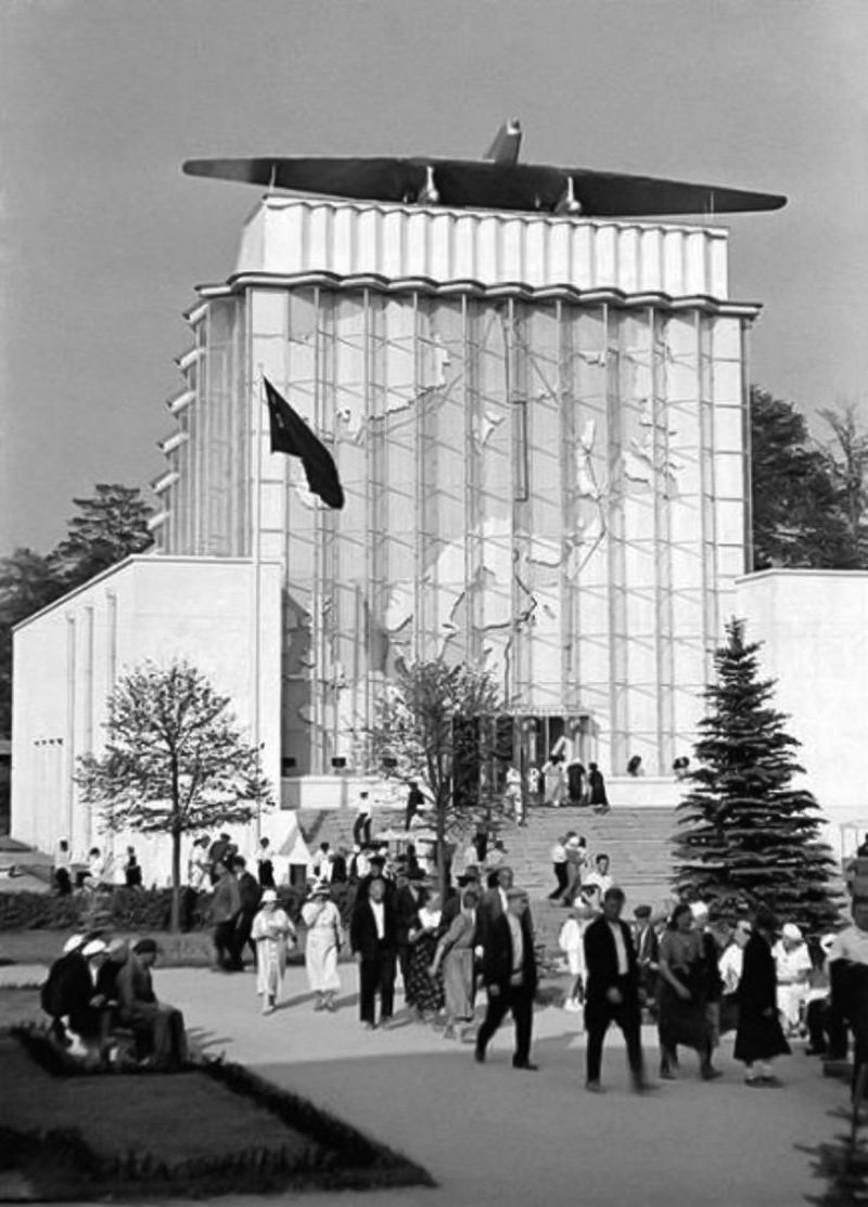 The Soviet Arctic pavilion at VDNKh National Exhibition Center