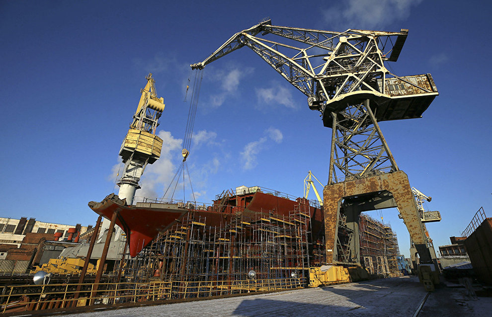 Shipbuilding and Arctic exploration to be discussed in St. Petersburg