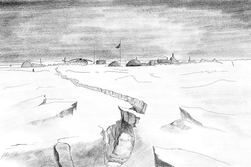 """""""We have a dire situation"""". The diaries from the North Pole 3 drifting station chief"""