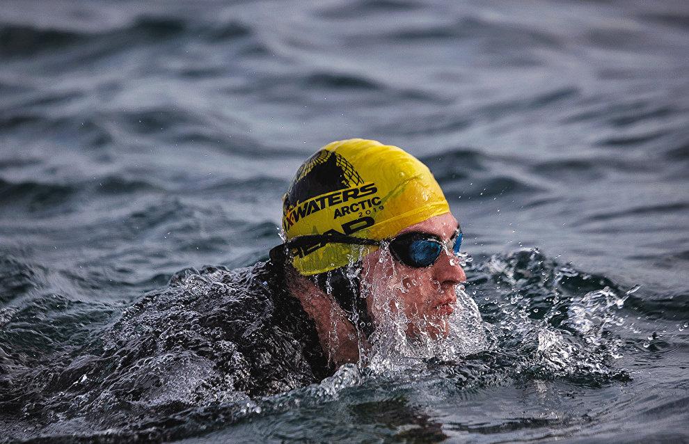 Третий заплыв X-waters в Териберке