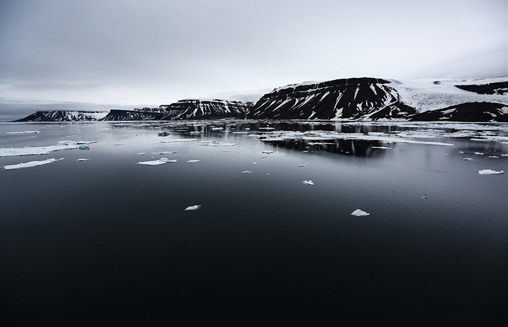 A receding Franz Josef Land: Archival photos help gauge the scale of melting glacier