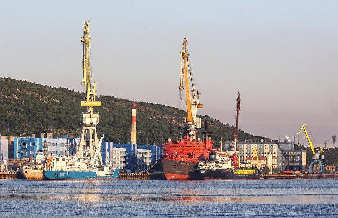 Атомный контейнеровоз «Севморпуть» завершил пробный рейс в Санкт-Петербурге