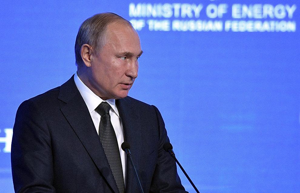 Путин: РФ разрабатывает ресурсную базу Арктики с учетом спроса на СПГ в мире