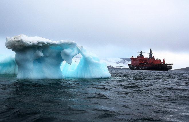 Росгидромет: две трети акватории арктических морей остаются летом безо льда