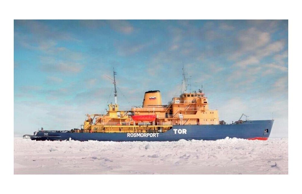 Сигнал бедствия с ледокола «Тор» у берегов Норвегии оказался ложным