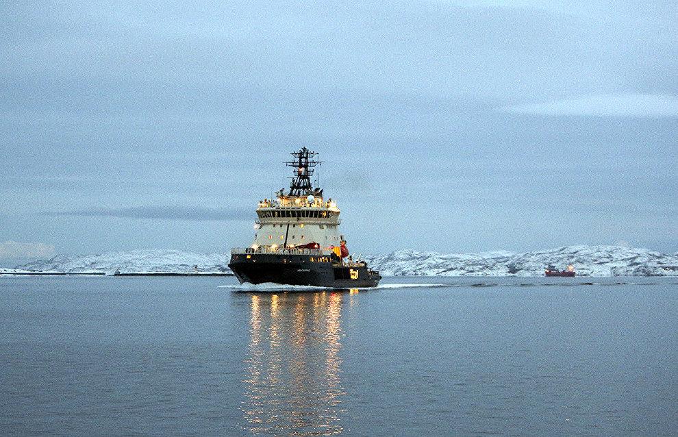 Испытания ледокола «Виктор Черномырдин» в Арктике пройдут весной 2020 года
