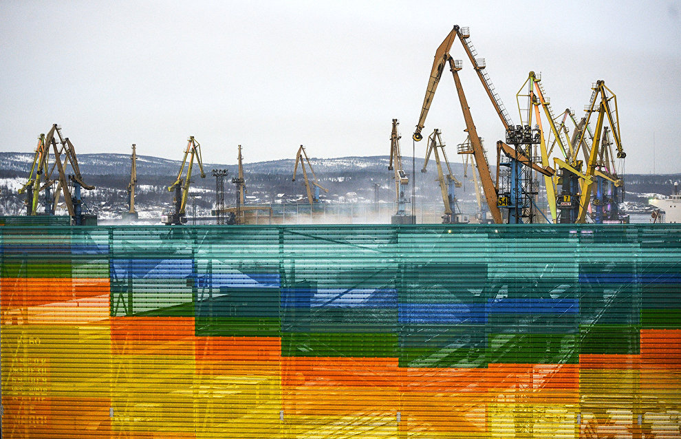 Murmansk Sea Port coal dust and wind screen to be put in operation in spring 2020