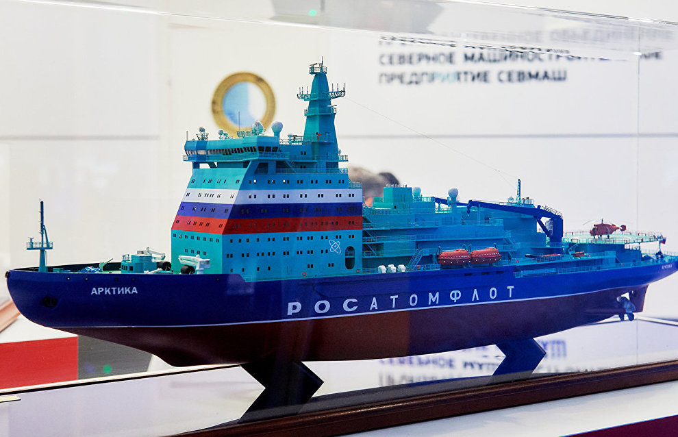 Cargo shipping volume along the Northern Sea Route to increase to 160 million tons per year by 2035