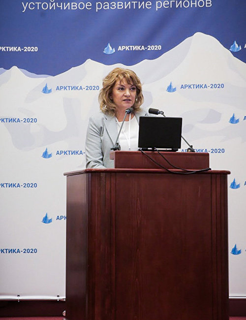 Address by Executive Director of the 5th International Conference Arctic 2020 Tamara Mordasova