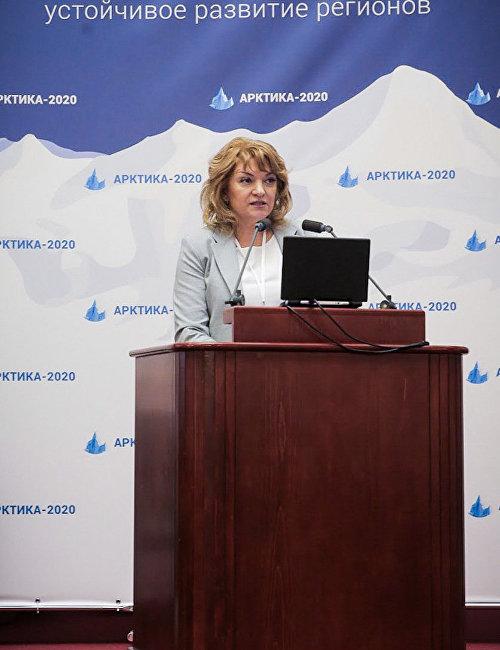 Выступление исполнительного директора V Международной конференции «Арктика-2020» Тамары Мордасовой