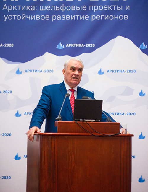 Выступление президента Союза нефтегазопромышленников России (СНП) Геннадия Шмаля на открытии V Международной конференции «Арктика-2020»