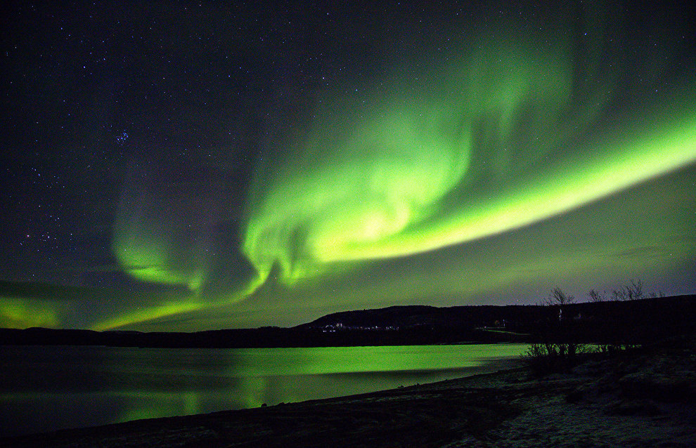 In ancient times, the northern lights frightened people and were considered an ill omen