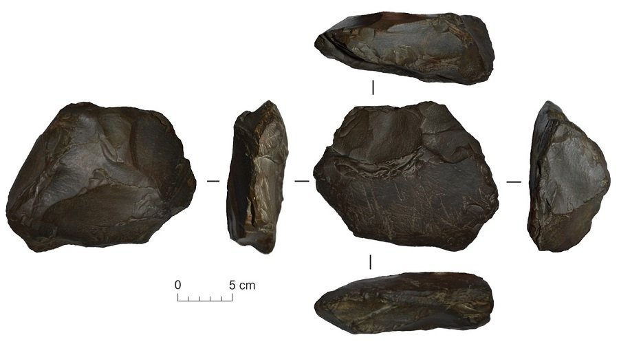Артефакты, найденные в ходе полевых работ лета 2019 года