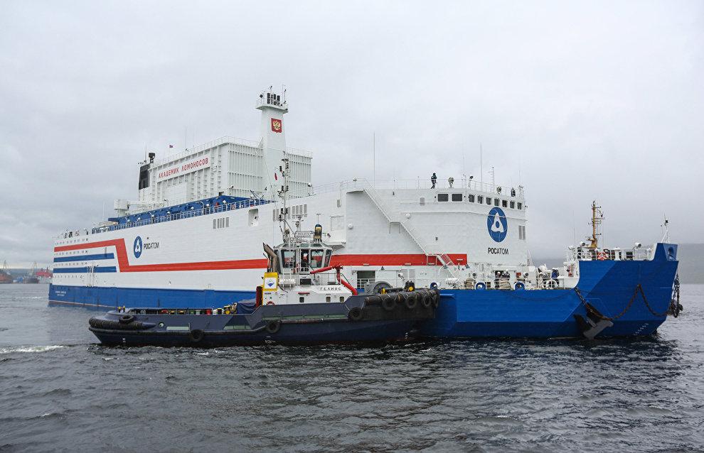 Akademik Lomonosov floating nuclear power plant becomes operational