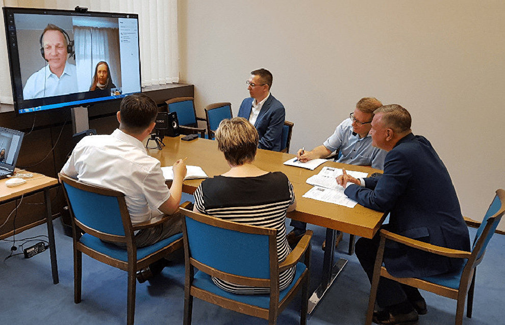 Representatives of Russia and Finland discuss cooperation in the Arctic region