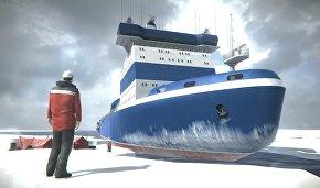 Arktika icebreaker AR project vies for Two Poles Award