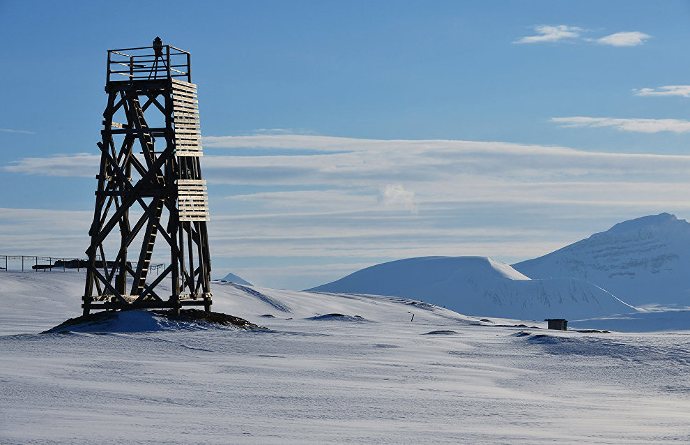 Russian range for studying frozen ground opened on Spitzbergen