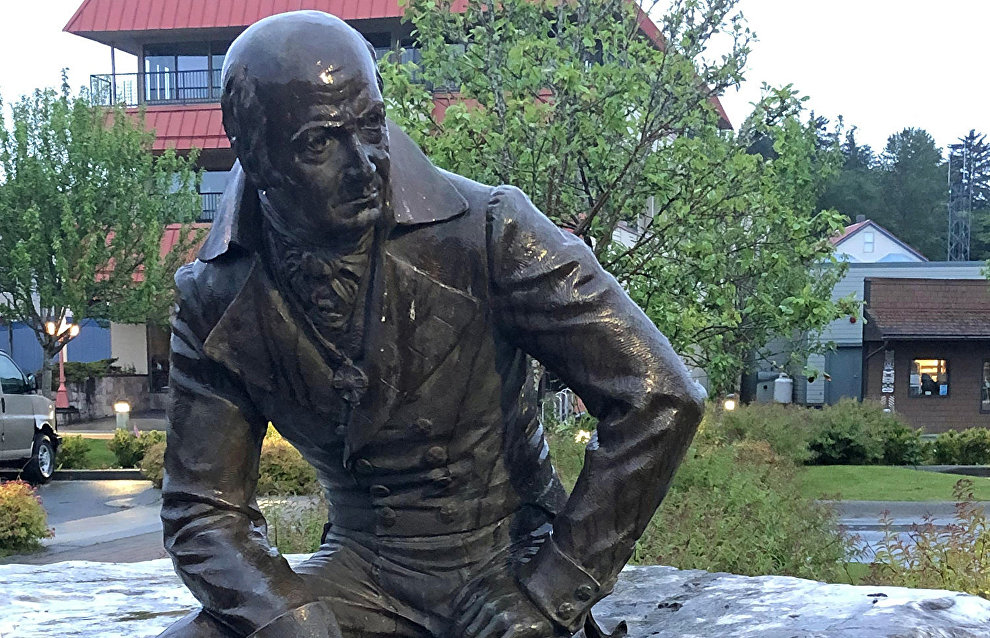 Monument to Russian governor of Alaska to be removed from downtown