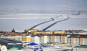 Aerial lift bridge to span Anadyr Estuary in Chukotka