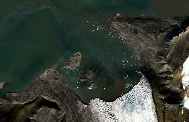 Открытый школьниками остров в Арктике планируют нанести на карты