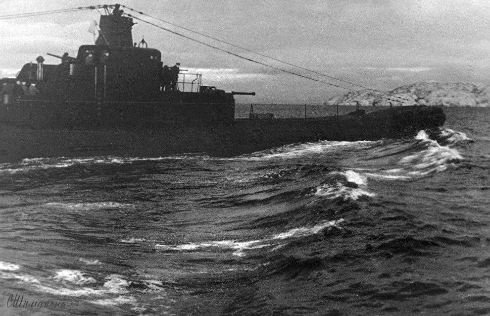 K-21 submarine. Great Patriotic War of 1941-45. The Northern Fleet