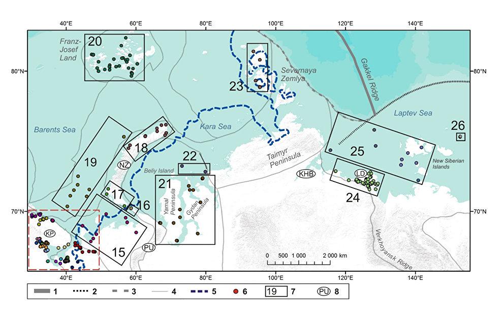 Географы МГУ создали базу данных изменений уровня морей Российской Арктики